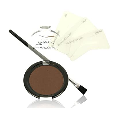 Cheapest KLEANCOLOR Brows Essential Kit-KCEBK112 Dark Brown by KleanColor - Free Shipping Available
