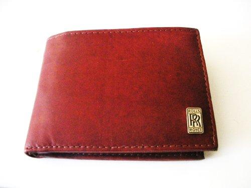 rolls-royce-brown-cowhide-bi-fold-leather-wallet
