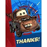 CARS 2 Thank You Notes