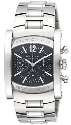 Bulgari Men's Assioma Mechanical/Automatic Chronograph Ardoise Dial Stainless Steel