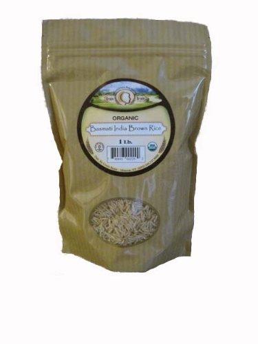 Basmati India Brown Rice ORGANIC (1LB.)