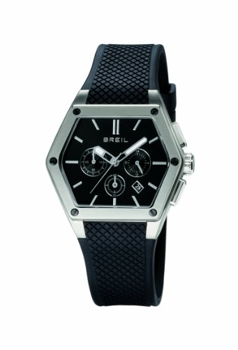 Breil TW0659 Mens Chronograph Watch with Rubber Strap