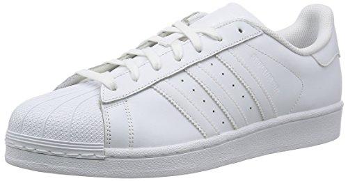 Adidas Superstar Donna Trainers, White White, 38 2/3 EU