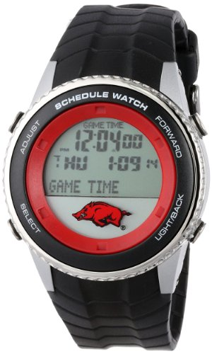NCAA Men's COL-SW-ARK Schedule Series Arkansas Razorbacks Watch at Amazon.com