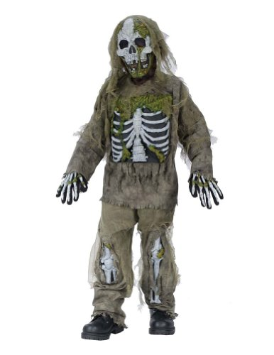 Skeleton Zombie Child Md Kids Boys Costume