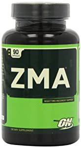 Optimum Nutrition ZMA Nighttime Recovery Support capsules - Tub of 90