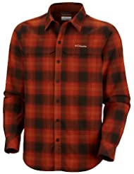 Columbia Men's Cool Creek Plaid Long Sleeve Shirt