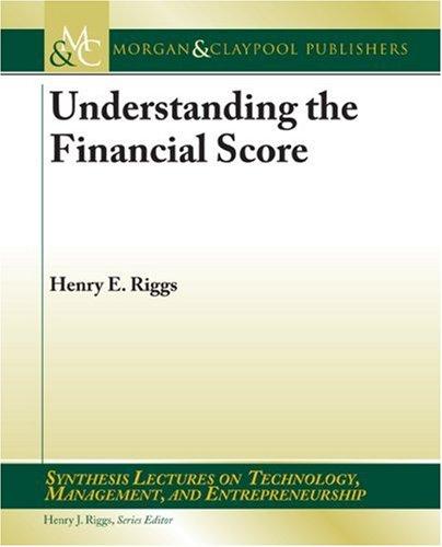 Understanding the Financial Score