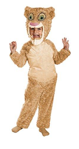 [Girls Lion King Nala Deluxe Kids Child Fancy Dress Party Halloween Costume, 2T] (Disney Nala Costume)