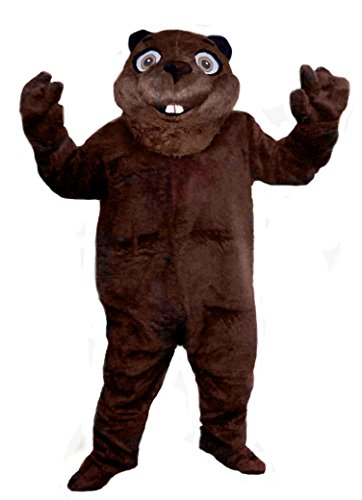 Mascots USA by CJs Huggables Custom Professional Low Cost Beaver Mascot Costume