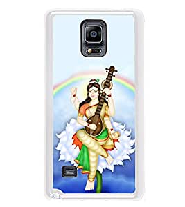 ifasho Goddess Saraswati Back Case Cover for Samsung Galaxy Note 4