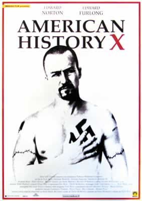 HUGE LAMINATED / ENCAPSULATED American History X - US Film POSTER measures approximately 100 x 70cm Greatest Films Collection Directed by Tony Kaye. Starring Edward Norton Edward Furlong Beverly D'Angelo