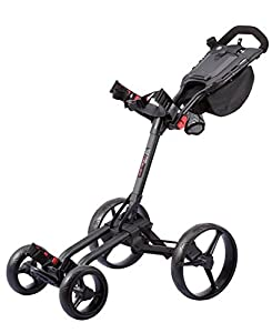 Big Max Wheeler 4 Rad Golftrolley Farbe Black NEUHEIT