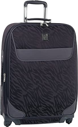 Anne Klein Lions Mane 28 Inch Expandable Spinner, Purple, One Size