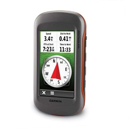 Garmin Montana 650 Waterproof Hiking GPS with 5 Megapixel Camera