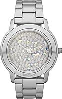 DKNY Glitz Silver-tone 3-Hand Analog Women's watch #NY8474 by DKNY