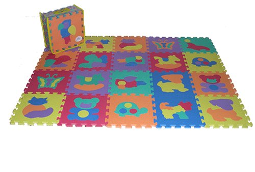 Buy Low Price Soft & Safe Foam Animal Image Mat (B000F9NJ8G)