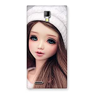 Gorgeous Innocent Angel Doll Multicolor Back Case Cover for Micromax Canvas Xpress A99