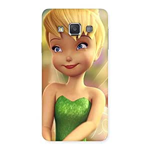 AJAY ENTERPRISES Extant Cuteirl Tin Back Case Cover for Galaxy A3