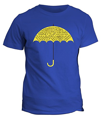Tshirt How I met your mother - ted tracy - finalmente arriva mamma Ombrello giallo - HIMYM by Fashwork