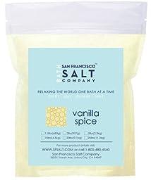 Vanilla Spice Bath Salts 10lb Bag