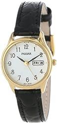 Pulsar Women's PXU012 Gold-Tone Stainless Steel Watch