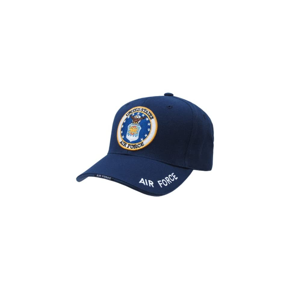 RAPID DOMINANCE Military Workout Branch Caps (Adjustable , Air Force Navy)