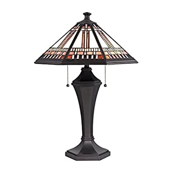 mission style tiffany lamp table lamps. Black Bedroom Furniture Sets. Home Design Ideas