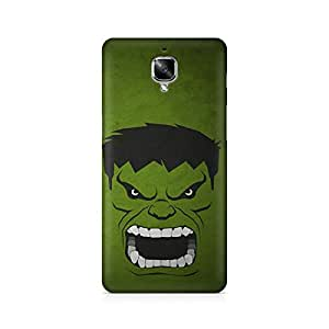 Ebby Hulk Premium Printed Case For OnePlus Three