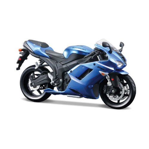 Maisto 39155 1:12 Scale AL Kawasaki Ninja ZX-6R Asembly Line Motor Cycle - 1