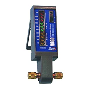 Amazon.com: Supco VG60 Electronic Vacuum Gauge, 50 to 5,000 micron