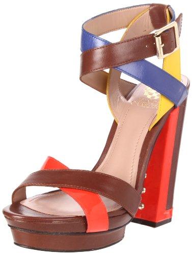 Vince Camuto Women's VC-Pamir Platform Sandal,Brandy Combo,8 M US