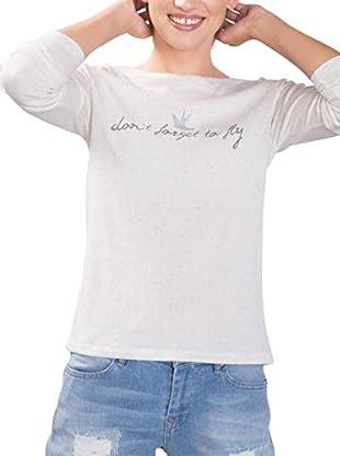 edc by ESPRIT Camiseta Manga Larga (Gris)
