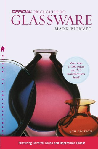 The Official Price Guide to Glassware, 4th Edition (Official Price Guide to Glassware)