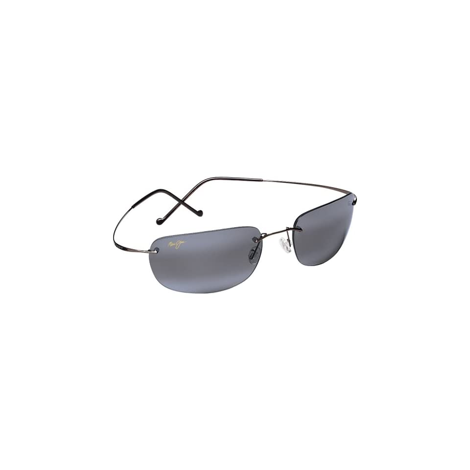 Maui Jim Sunglasses Kapalua Adult Polarized Eyewear   Gunmetal/Neutral Grey / One Size Fits All