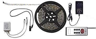 Diamond Group 52687-RF Red/Green/Blue 6' LED Strip Light Kit with RF Remote