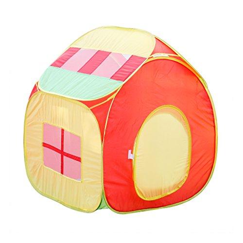 excelvan kinderzelt spielzelt kinderspielzelt zimmerzelt b llebad pop up zelt mit b llen. Black Bedroom Furniture Sets. Home Design Ideas