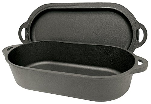 6 Quart Oval Fryer and Griddle Lid (Turkey Fry Injection compare prices)