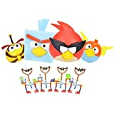 Angry Birds Knex Super Value Pack Includes 4 Sets, Plus 2 Bonus Characters!