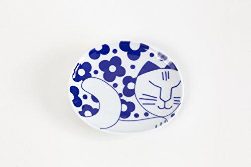 リサ・ラーソン ごのねこ豆皿[有田焼](はなねこ)