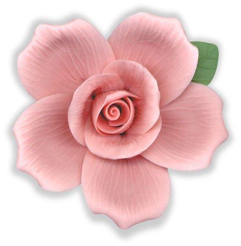 Porcelain Bisque Pink Roses