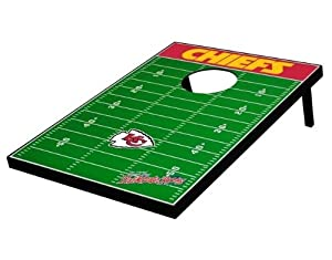 Kansas City Chiefs Cornhole Bean Bag Toss Game by Unknown