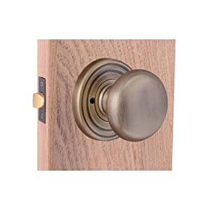 Capital decorative interior privacy door knob finish antique brass doorknobs for Decorative interior door knobs