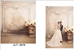 10x15ft Wedding Theme Thin Vinyl Customized Backdrop CP Photography Prop Photo Background JLT-6079