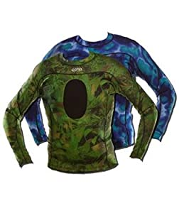 JBL Reversible Camouflage 1.5mm Tropic Top with Elasto-Flex Neoprene for Spearfishing by JBL