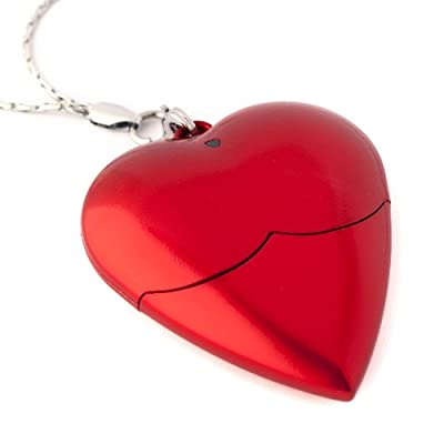 8GB Heart USB Memory Stick - Flash Drive/Pen Drive - School/Novelty Gift for Girl by Memory Mates