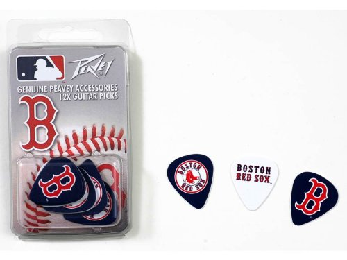 Peavey Mlb Boston Red Sox Guitar Picks Acoustic Or Electric