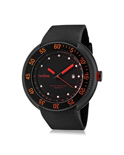red line Men's 50069-BB-01-RA Driver Black Silicone Watch