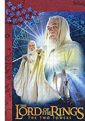 Gandalf The White from Lord of the Rings, 500 Piece Jigsaw Puzzle Made by Wrebbit