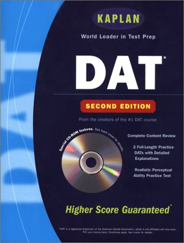 Kaplan Dat With Cd Rom, Second Edition (Kaplan Dat (Dental Admission Test))